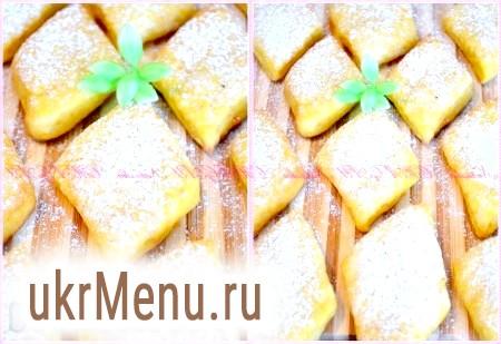 Гарбузове печиво з сиром