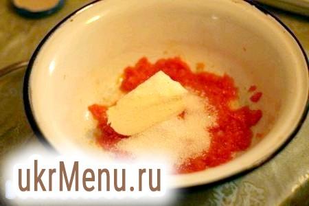 Фото - До гарбузовому пюре додати цукор і масло (кімнатної температури).