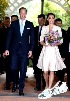 Вільям і Кейт проводять свій другий медовий місяць в Сінгапурі