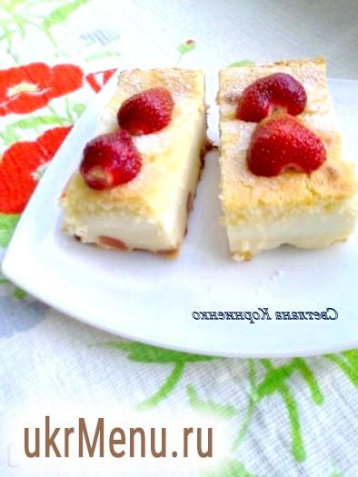 Розумне сирне тістечко