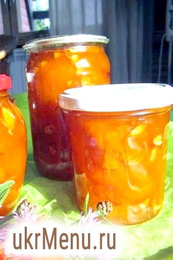 Варення з абрикосів з ядерця