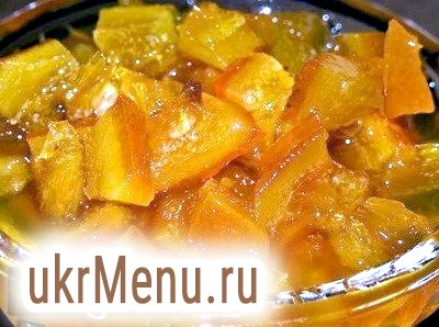 Варення з кабачків з лимоном і апельсином