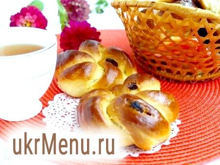 Віденські булочки з родзинками