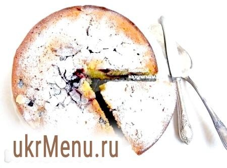 Віденський пиріг з вишнею