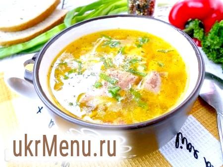 Вермішелевий суп з куркою