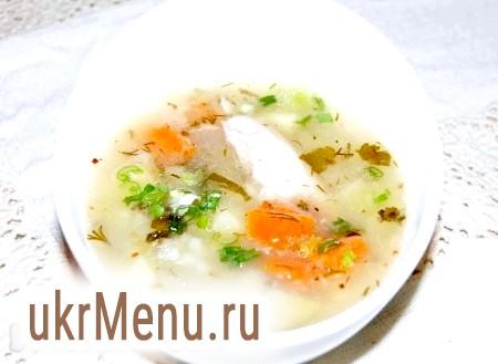 Смачний суп на курячому бульйоні