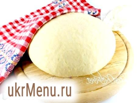 Заварне дріжджове тісто для пиріжків