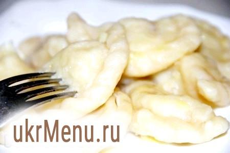 Заварне тісто для вареників. Вареники з картоплею