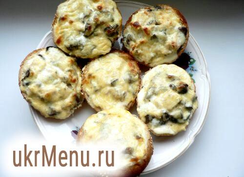 Жульєн з грибами і куркою в булочках рецепт з фото на Віва вумен