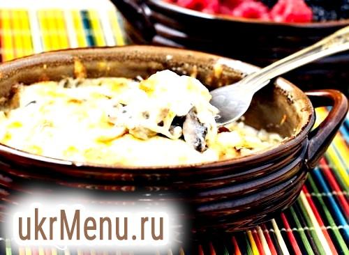 Жульєн з куркою і грибами. найкращі рецепти