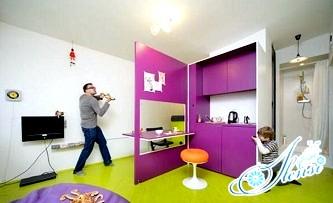 Дизайн маленьких квартир, або серйозний