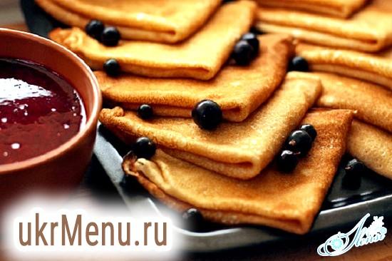 Готуємо з любов'ю традиційні російські млинці на кефірі