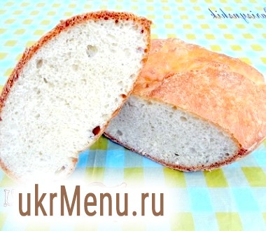 Хліб домашній на яйцях без масла