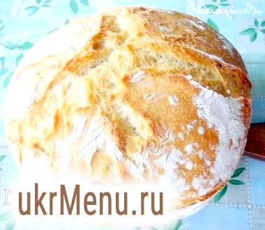Хліб домашній на опарі