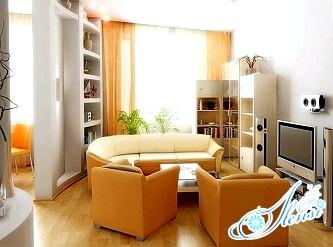 Інтер'єр для маленької квартири - п'ять головних порад