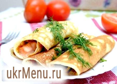 Яєчні млинчики для рулетів і салатів