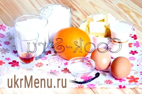 Кекс з апельсином