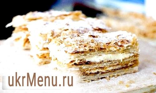 Крем для «Наполеон» - ласощі для ласунів. рецепт з фото
