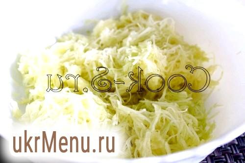 Оладки з кабачків з сиром