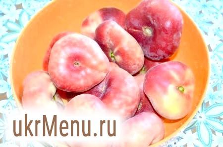 Фото - Спочатку помиємо персики.