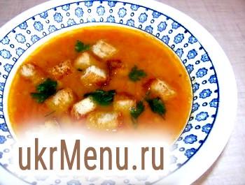 Пісний гороховий суп