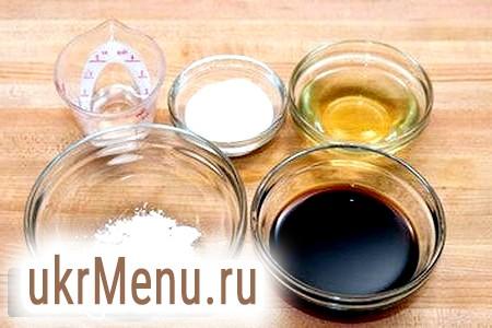 Приготування рецепта соусу теріякі