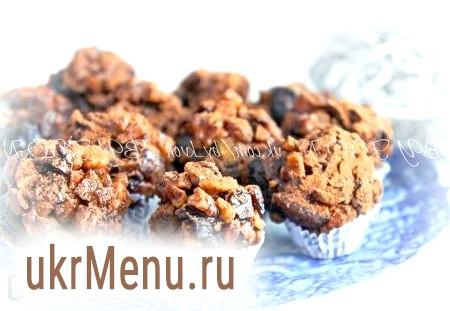 Рецепт цукерок із сухофруктів