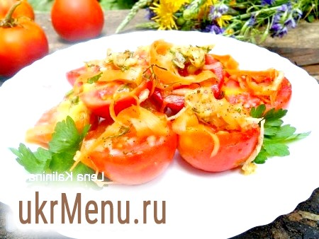 Рецепт помідорів по-корейськи