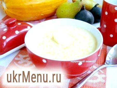 Рецепт пшоняної каші з гарбузом