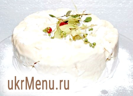 Рецепт торта-морозива