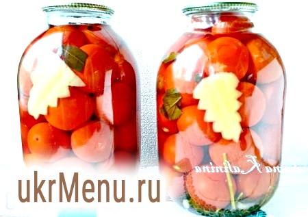 Рецепт смачних консервованих помідорів на зиму