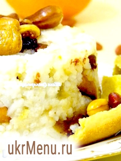 Рисова каша в горщику