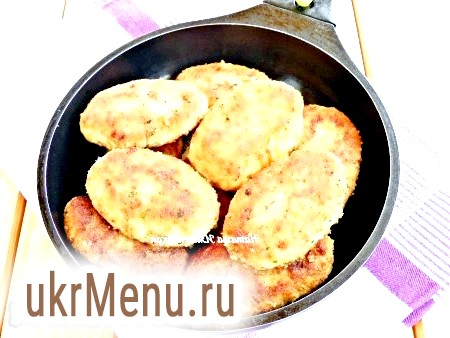 Рибні котлети з картоплею