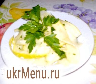 Салат з кабачків під горілочку