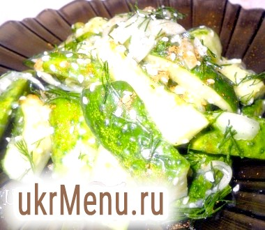 Салат з огірків по-корейськи