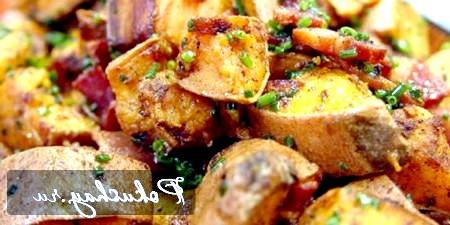 Солодкий картопля