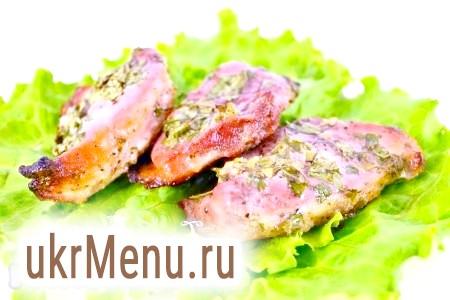 Стейки свинини, запечені в духовці