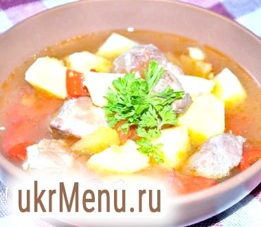 Суп-гуляш по-Егерської