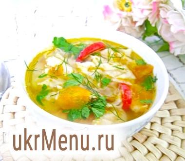 Суп з лавашем