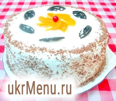 Торт апельсиновий в мультиварці
