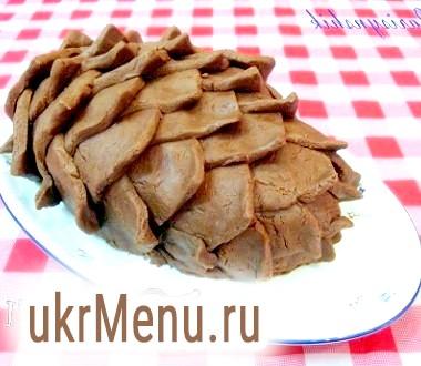 Торт бісквітний Кедрова шишка в мультиварці