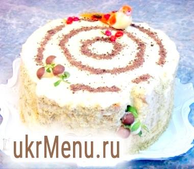 Торт бісквітний Солодкий пень