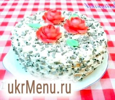 Торт зефірний в мультиварці