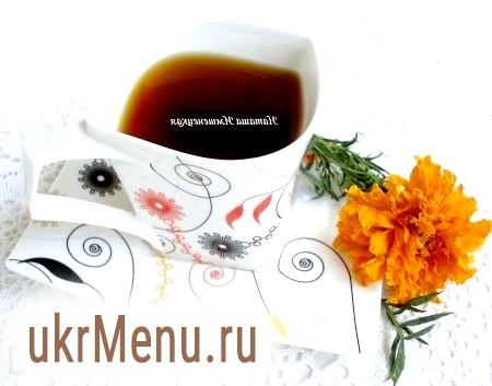 Чорний чай з імеретинським шафраном