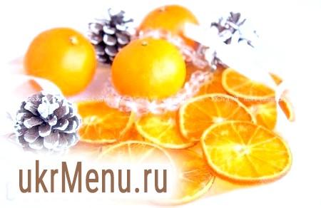 Чіпси в домашніх умовах з цитрусових