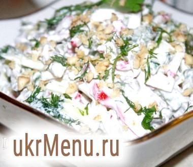 Хрусткий ситний салат