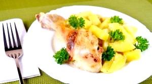 Вишукані страви із запеченої курки