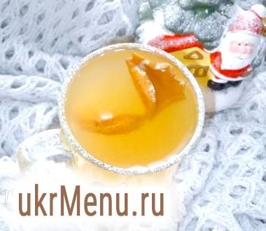 Яблучно-апельсиновий чай