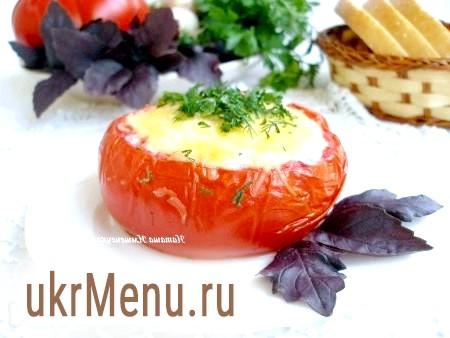 Яєчня в помідорі