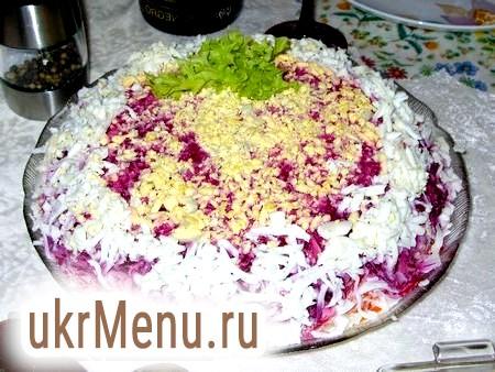 Класичний новорічний рецепт салату «шуба»